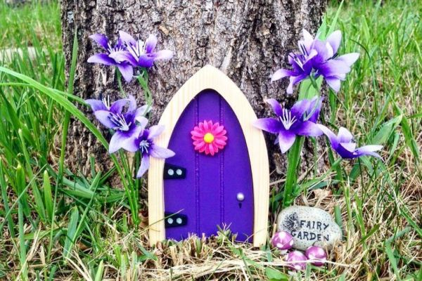 The irish fairy door company linked finance for Amazon uk fairy doors